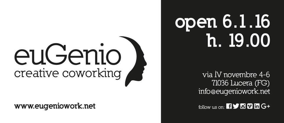 """""""euGenio"""" il progetto di creative co-working in apertura a Lucera"""