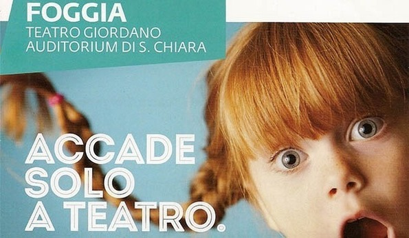 La scena dei ragazzi a Foggia al Teatro Umberto Giordano