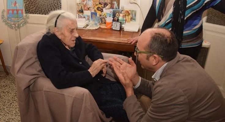 Nonna Cecilia e il sindaco Riccardi