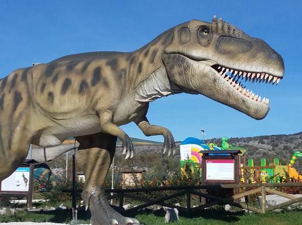Ha riaperto il parco dei dinosauri a san marco in lamis
