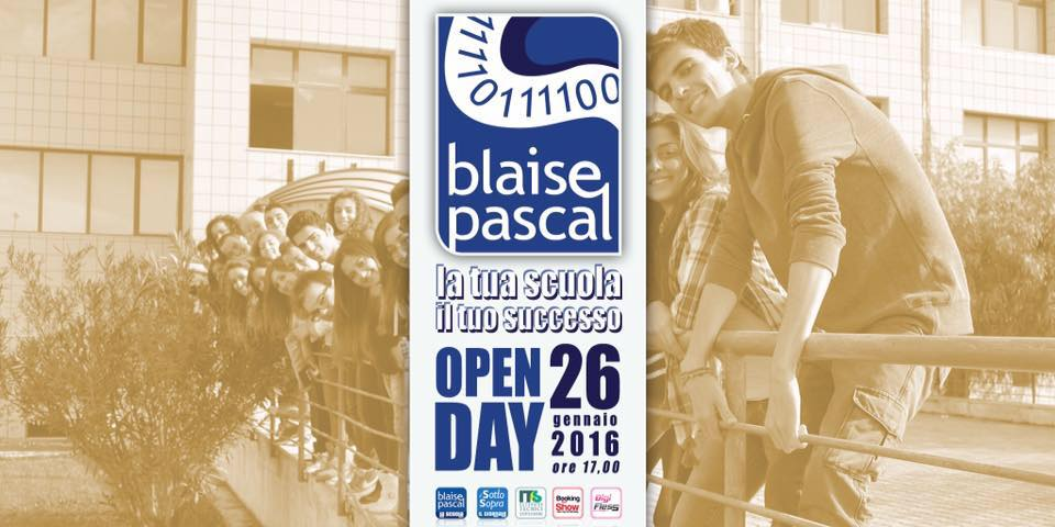 Open Day all'istituto tecnico economico Blaise Pascal di Foggia