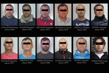 I componenti della banda dei caveau