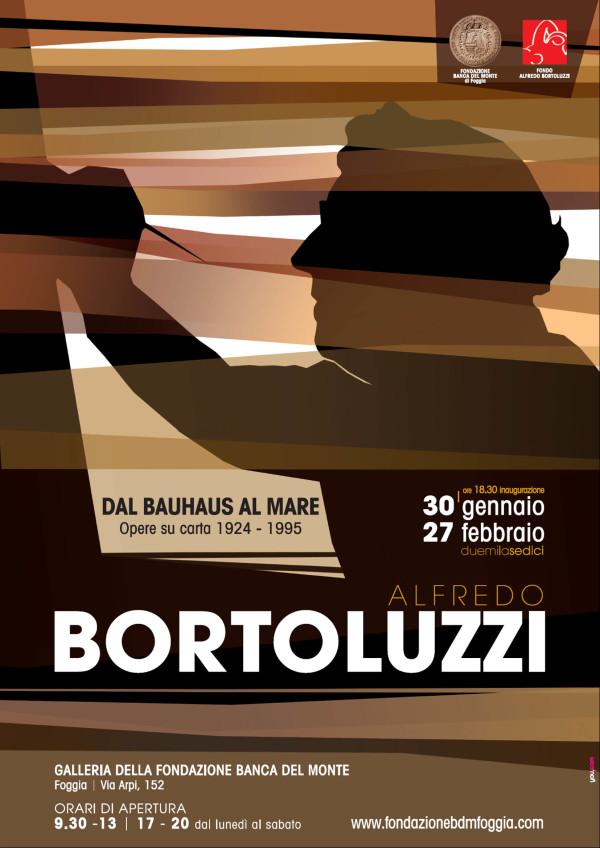 Mostra di Alfredo Bortoluzzi alla Fondazione Banca del Monte di Foggia