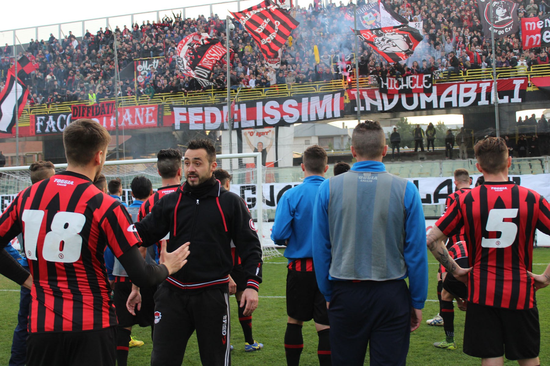Il Foggia batte l'Akragas e va in semifinale di Coppa Italia