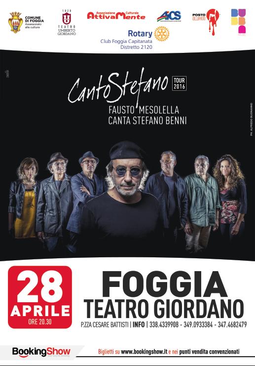 Fausto Mesolella a Foggia