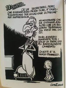 Marco Pannella visto da Andrea Pazienza