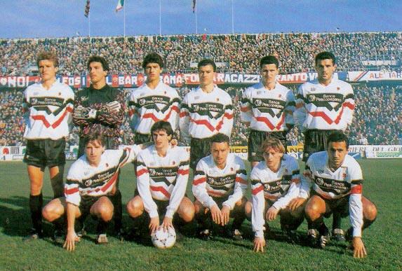 Foggia promozione serie A 19 maggio 1991 Foggia-Triestina 5-1 Zdenek Zeman