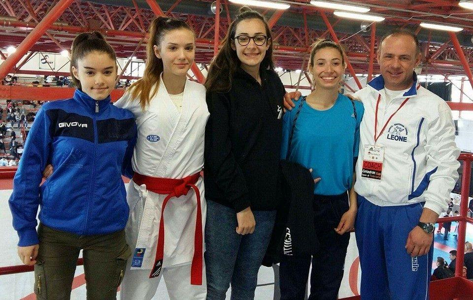 Karate Foggia, medaglia per Desiree Eronia