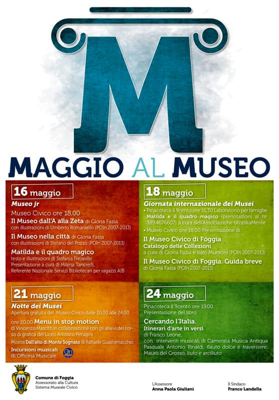 Maggio al Museo Comune di Foggia