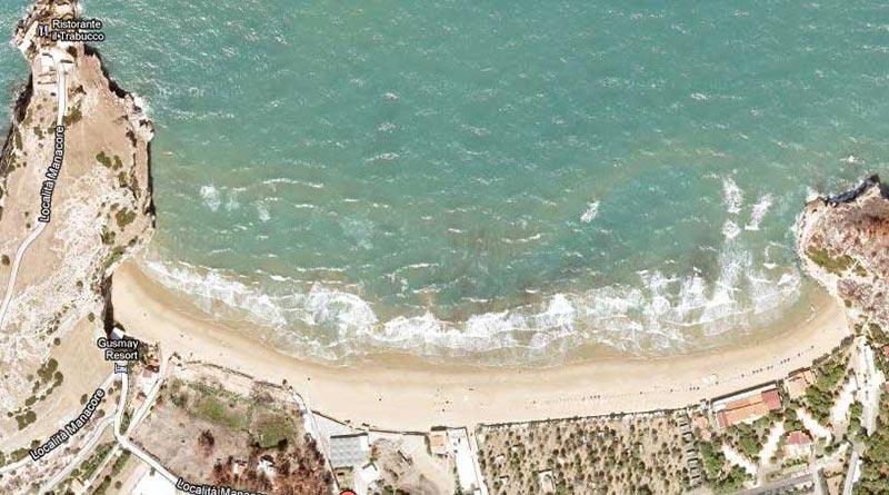 spiaggia manaccora peschici più belle spiagge gargano
