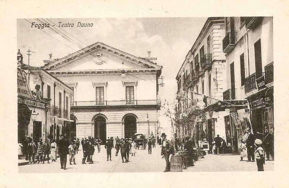 Teatro Umberto Giordano a Foggia: la storia