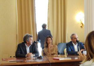 Saverio Russo, Anna Giuliani e Filippo Santigliano