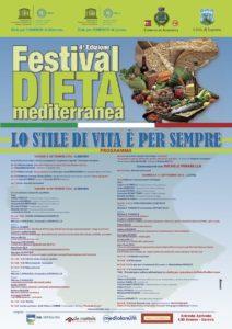 Programma-Invito Festival Dieta Mediterranea 2016 immagine