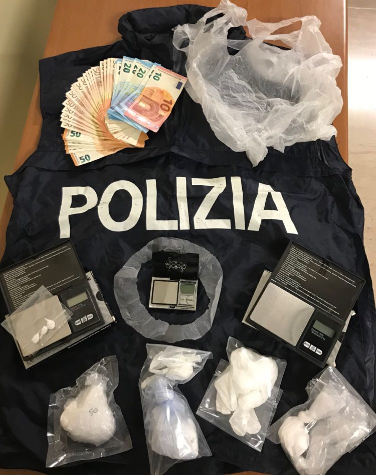 3 kg di cocaina in auto, due arresti
