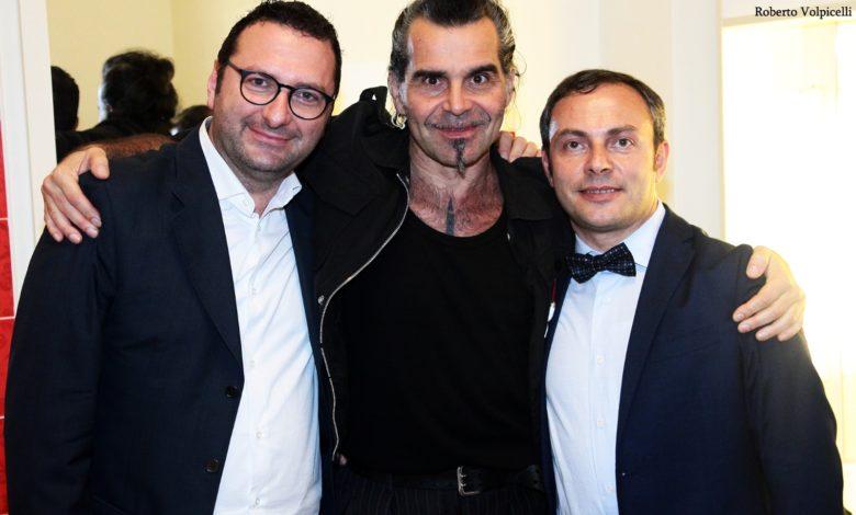 Gianni Cuciniello E Lorenzo Ciuffreda Con Piero Pelù