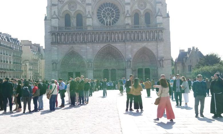Reliquia Padre Pio a Notre Dame