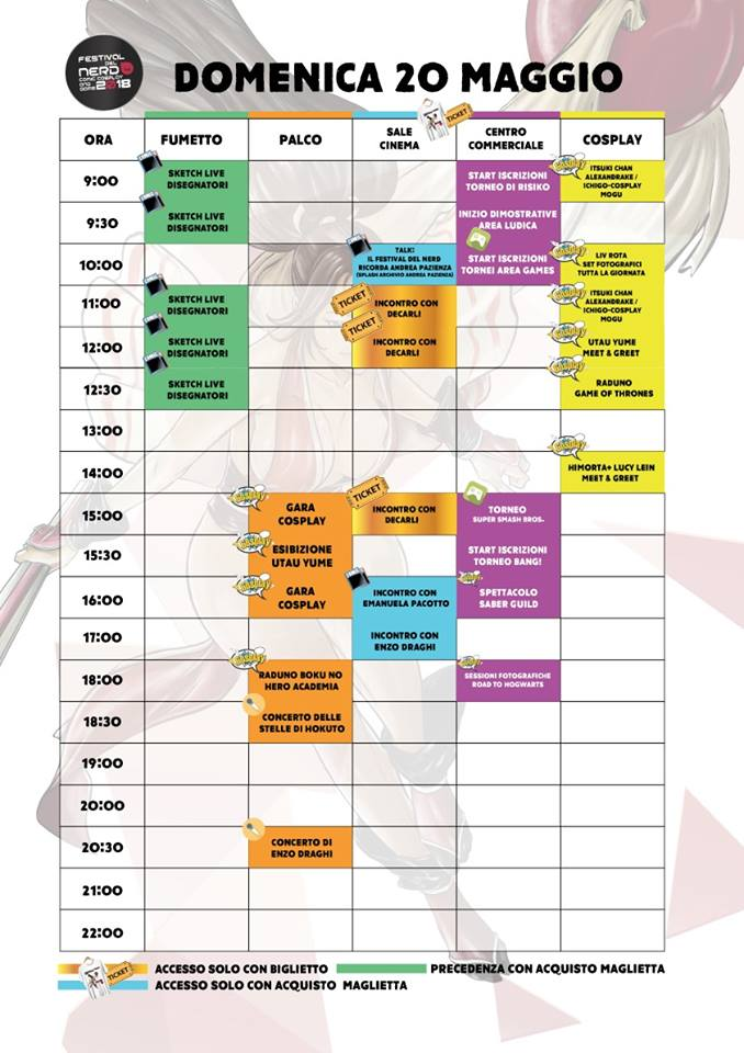 Programma Domenica