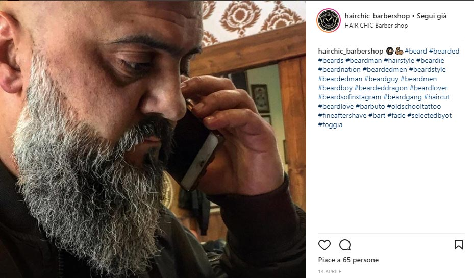 Instagram Hair Chic Barber Shop