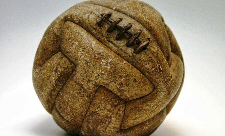 World Cup Football Soccer Ball 1930 T Model Uruguay 1366283054