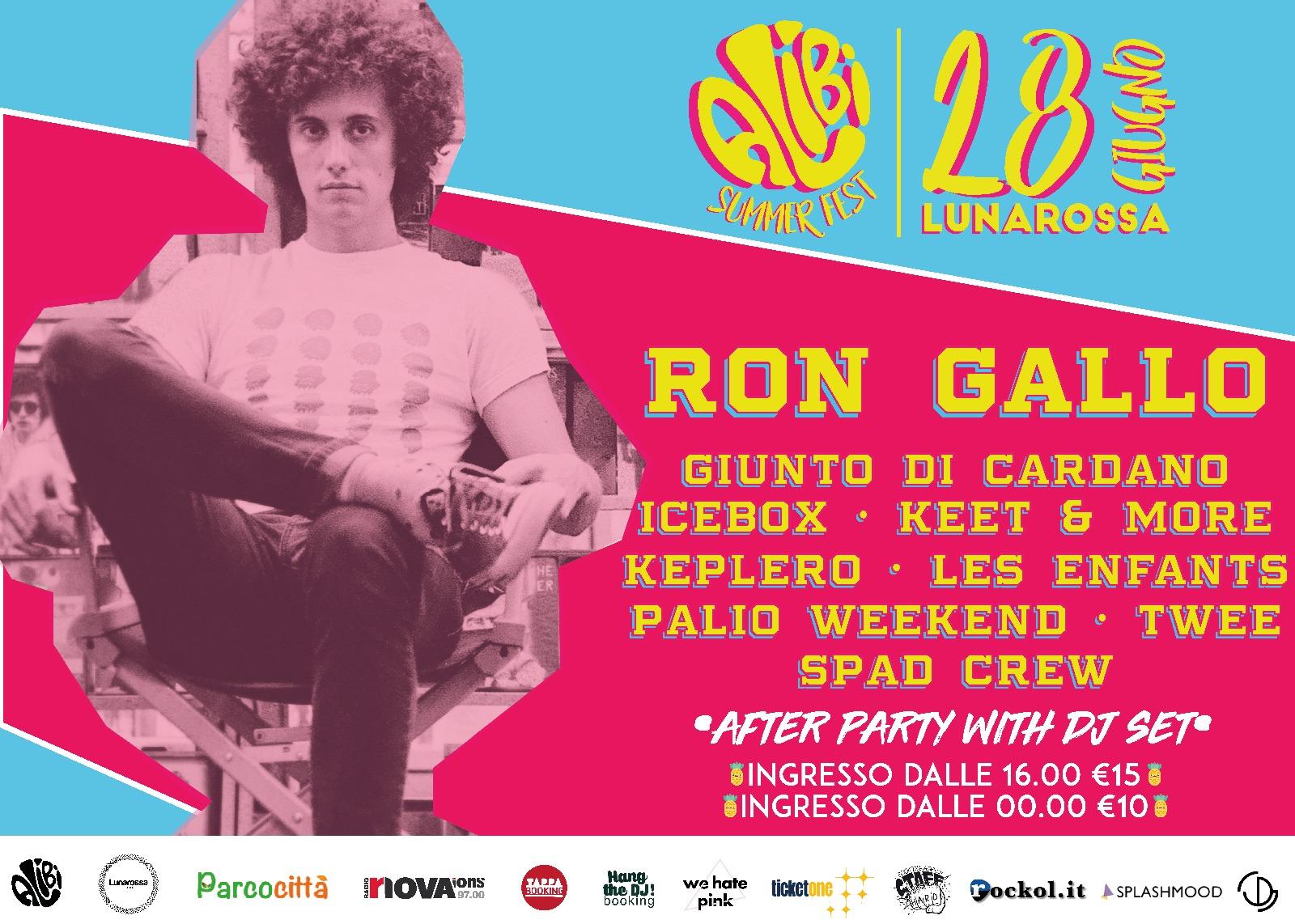 Locandina Alibi Summer Fest