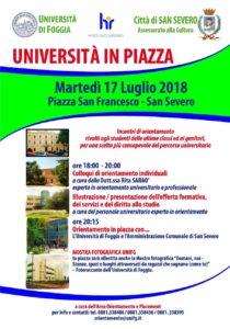 L'università In Piazza