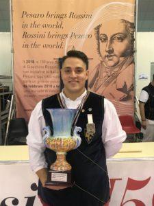 Francesco Calabrese Vice Campione Italiano Singolo Tradizionale