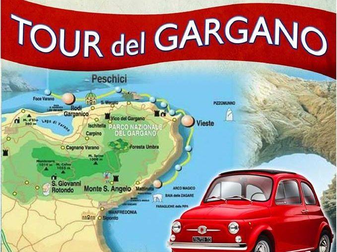 La Fiat 500 Si Regala Il Tour Del Gargano Per I Suoi Sessant'anni
