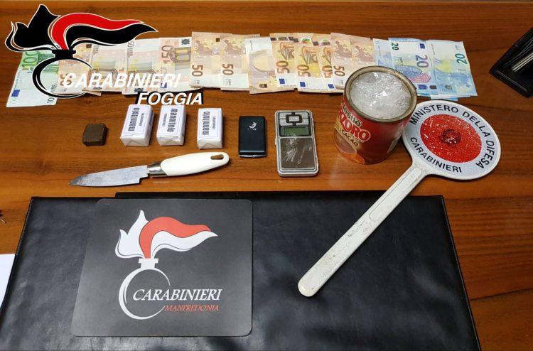 Arresto Manfredonia Castrignano Michele