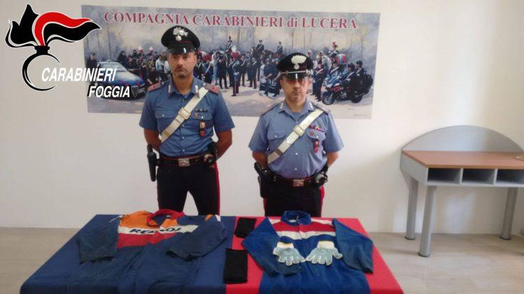 Carabinieri Provincia Di Foggia