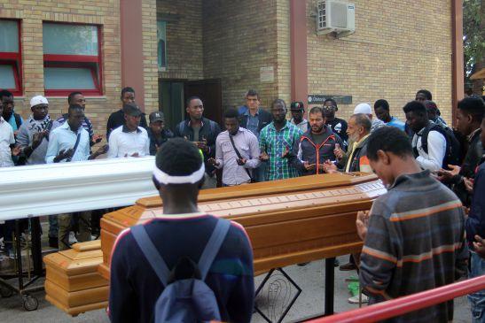 Rimpatriate Le Salme Dei Braccianti Morti