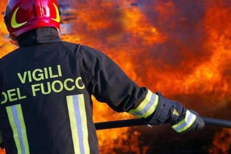 Incendio Ex Pista Borgo Mezzanone
