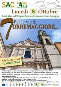 """Locandina Visita Guidata """"per Le Vie Di Torremaggiore…"""""""