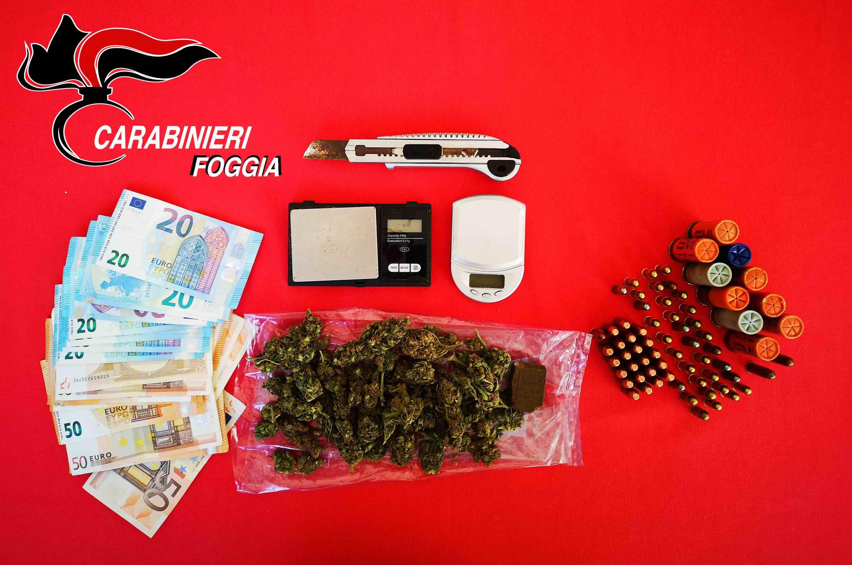 Lucera Arrestato 21enne