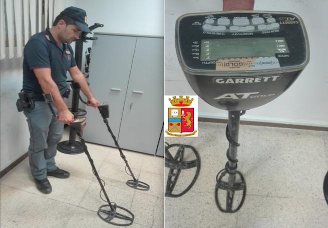 Tombarolo Foggia Metal Detector
