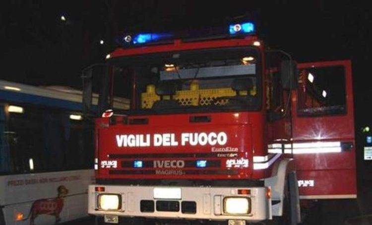 Generoso Rignanese auto fiamme