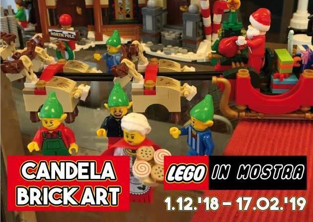Casa Di Babbo Natale Candela.Candela Brick Art Lego In Mostra Il Paese Del Natale Quest Anno