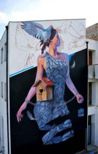 Monteleone Di Puglia Murales 1