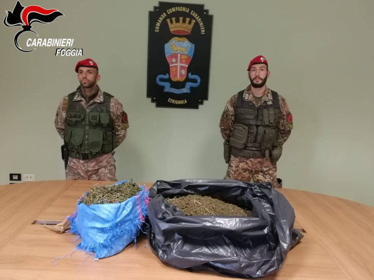 Pregiudicato Arrestato Per Droga