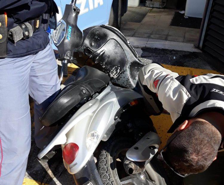 Polizia foggia fermati due giovani