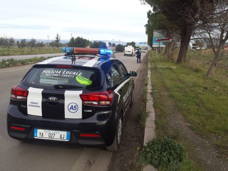 incidente stradale via manfredonia