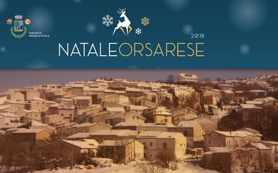 Natale Ad Orsara Di Puglia