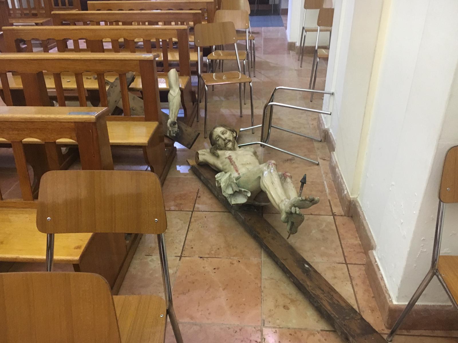 Vandalo In Chiesa A San Severo