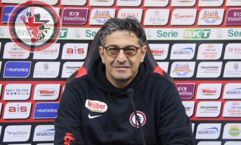 Pasquale Padalino in conferenza