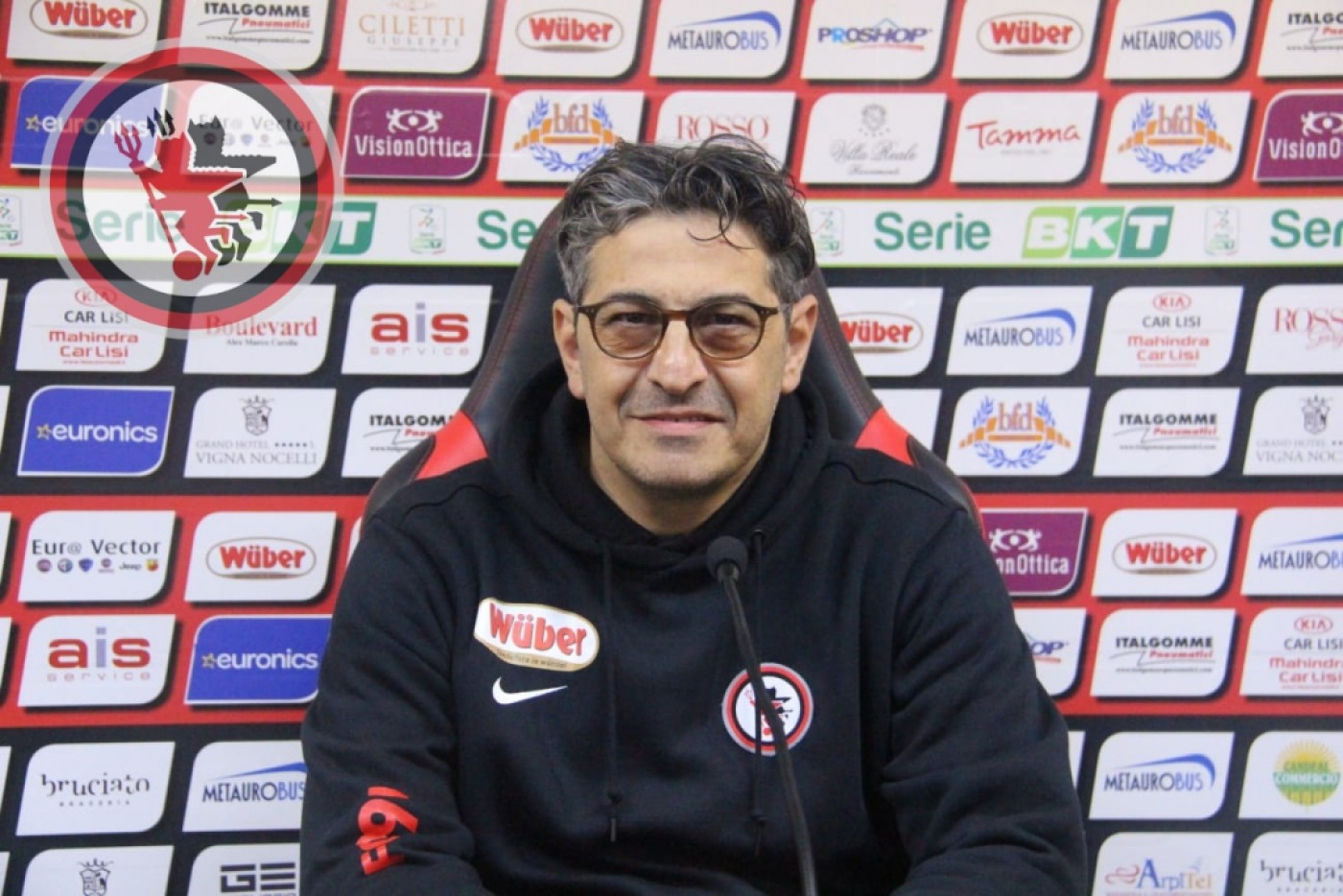 Pasquale Padalino in conferenza
