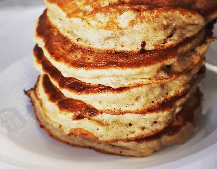 Fit Banana Pancakes