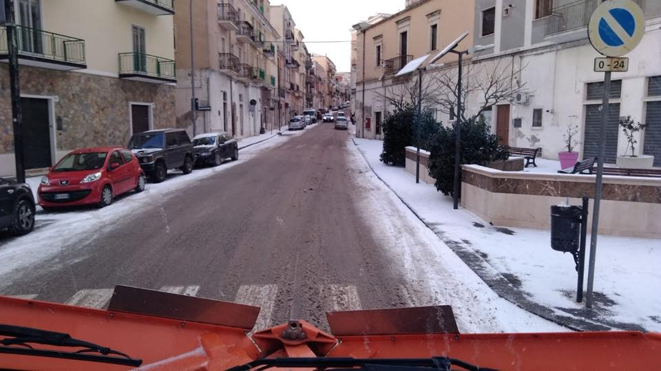 Neve Monte Sant'angelo