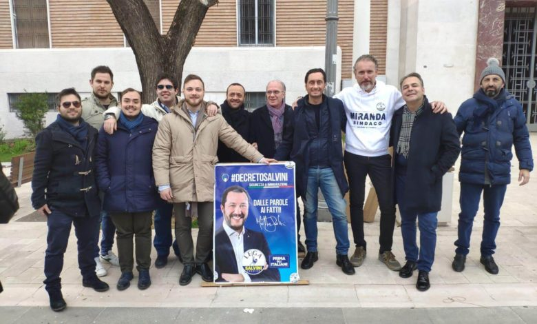 Foggia Lega Giovani Salvini