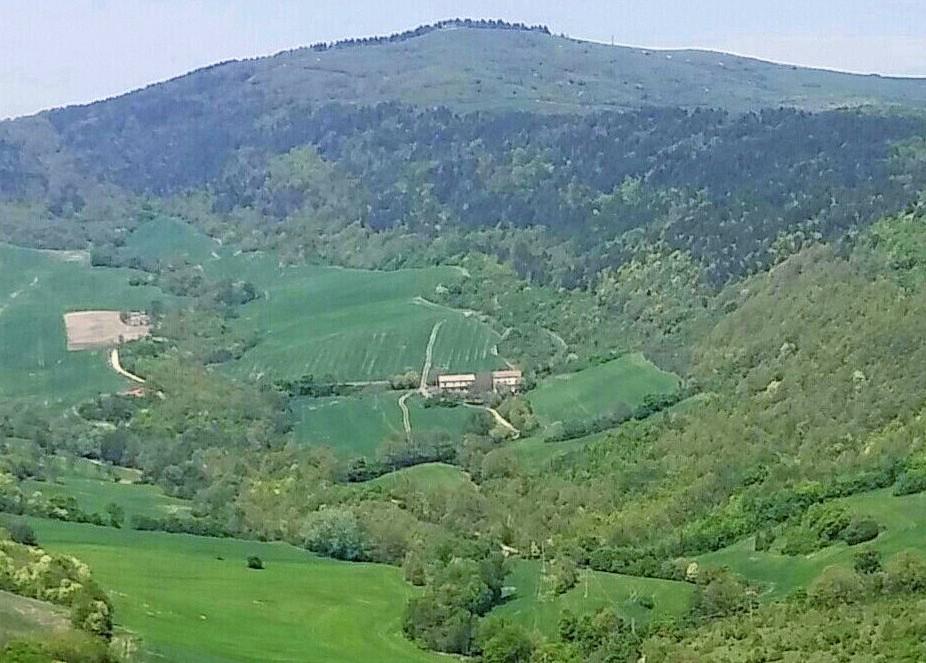 Monte Cornacchia Viewed From Faeto