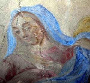 Affresco Gesù E Maria