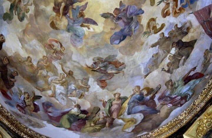 Volta Della Cupola Chiesa Di Gesù E Maria Foggia